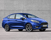 Ford Fiesta Sedan ST 2019