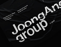 JoongAng Group brand website