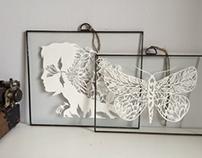 Handmade frames for my paperworks