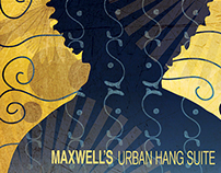 Maxwell: Urban Hang Suite. CD redesign
