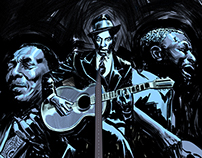 """Blues"" - Therapy comic - Artbook entry"