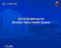 SIGSAUDE - Brazilian Navy Health System