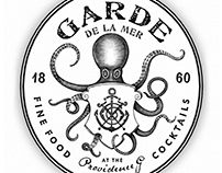 Garde de la Mer Logo Identity rendered by Steven Noble