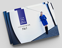 Brochure for the clothing brand Samange