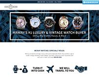 Aloha Watch Buyers: Logo and Website