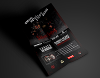 Subliminal Verses - Concert Flyer