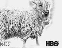 Bestiary Game of Thrones - Goat