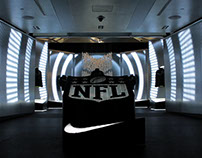 Niketown Super Bowl Installation