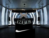 Niketown Super Bowl Installation