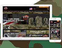BDS Tactical Gear Ecommerce Redesign