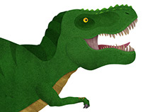 'Dinosaur Construction Kit: T-Rex' Children's Book