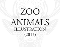 Zoo Animal Illustrations