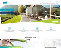 PROHOUSE website main page concept
