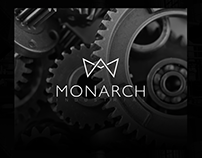 Monarch Industrial Brand Identity