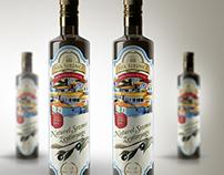 OLIVE OIL LABEL DESIGN (Zeytinyağı Etiket Tasarımı)