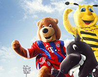 """Das Erste - Sportschau """"Mascots"""""""