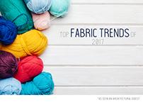 Fabric Trends 2017 (Album Design)