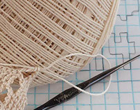 Wedding art - design and crochet