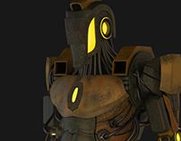 3D Rusty Robot