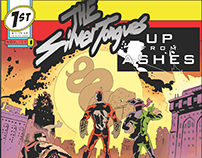 Album Art: The SilverTongues, Up From Ashes