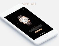 Daily UI Challenge - Day 8