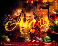 Anúncios de Natal do Grupo Gazeta de Comunicação