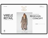 VIRELE Redesign concept
