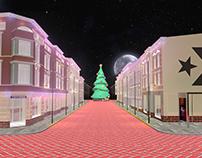 Converse Christmas Display