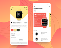 Product Serach UI for e-Commerce App