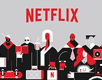 Netflix ( Binge Watchers)