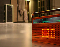 Retro styled Radio