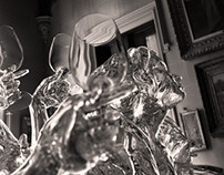 Glass Sculptures, Aureole NY