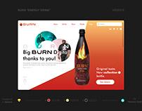 BURN Energy Drink Website