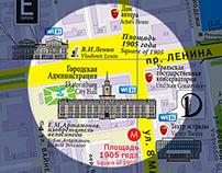 карты города  |  city map