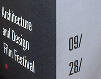 Architecture & Design Film Festival Invitation Mockup