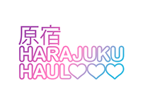 Harajuku Haul logo design (online retailer)