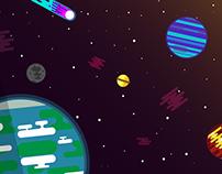 Illustration - Flat vector mural illustrations