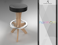 harmoni: Portable Guitarist Stool