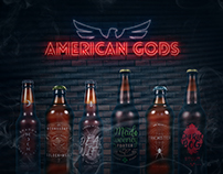 American Gods | Beer branding / fanart