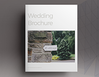 Wedding Lifestyle Brochure Template