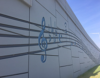 I-794 Ramp Musical Notes on Lakefront Gateway