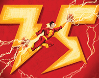 SDCC | Shazam 75th Anniversary