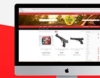 Florida Camping | Diseño Web | E-Commerce