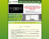 Real Estate Webinar Sales Page