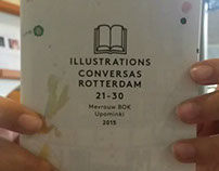Conversas Rotterdam #21 - #30: illustrations