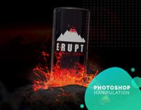 Photoshop Manipulation - Erupt