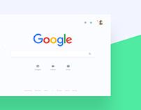 Google Search Material Design Redesign