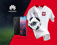 Landing page for Huawei's competition