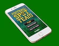 Spot the team-Game App