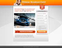 Webinar Broadcast Event Design